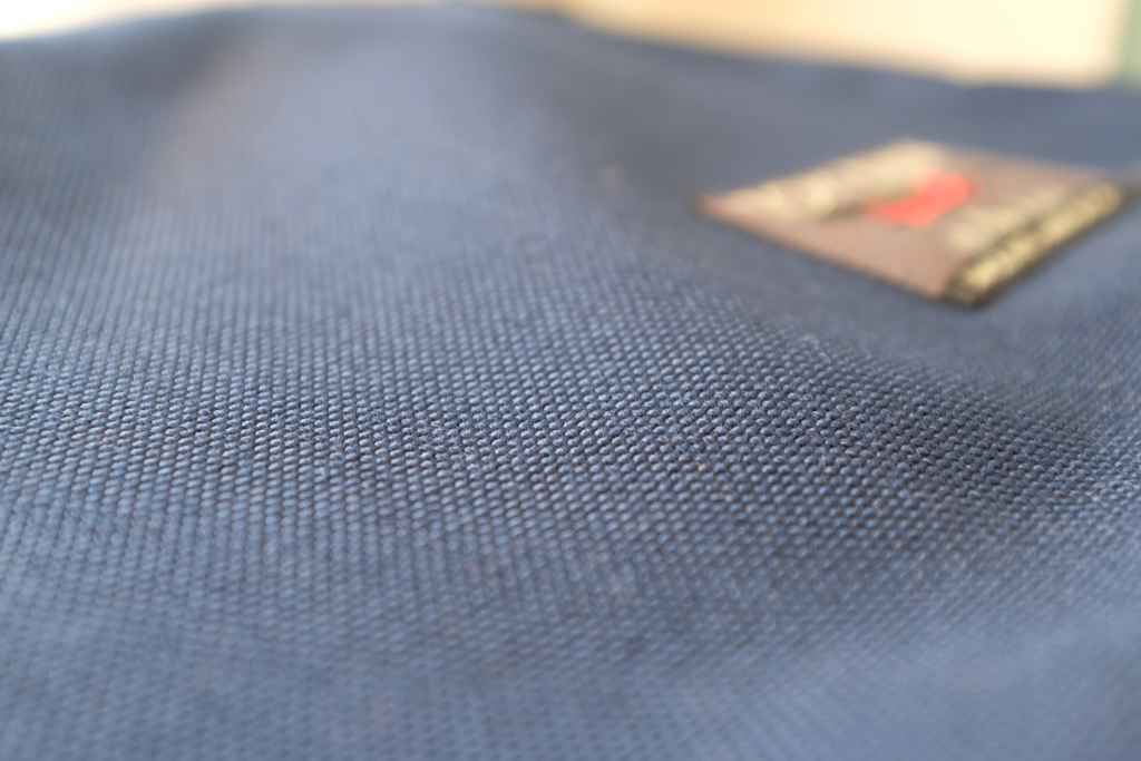 The 1000D Cordura fabric in Navy color