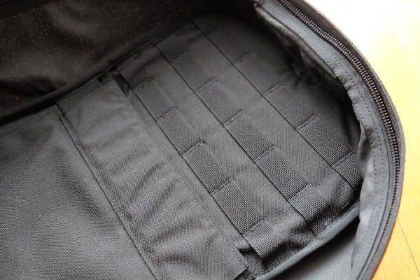 Internal molle system