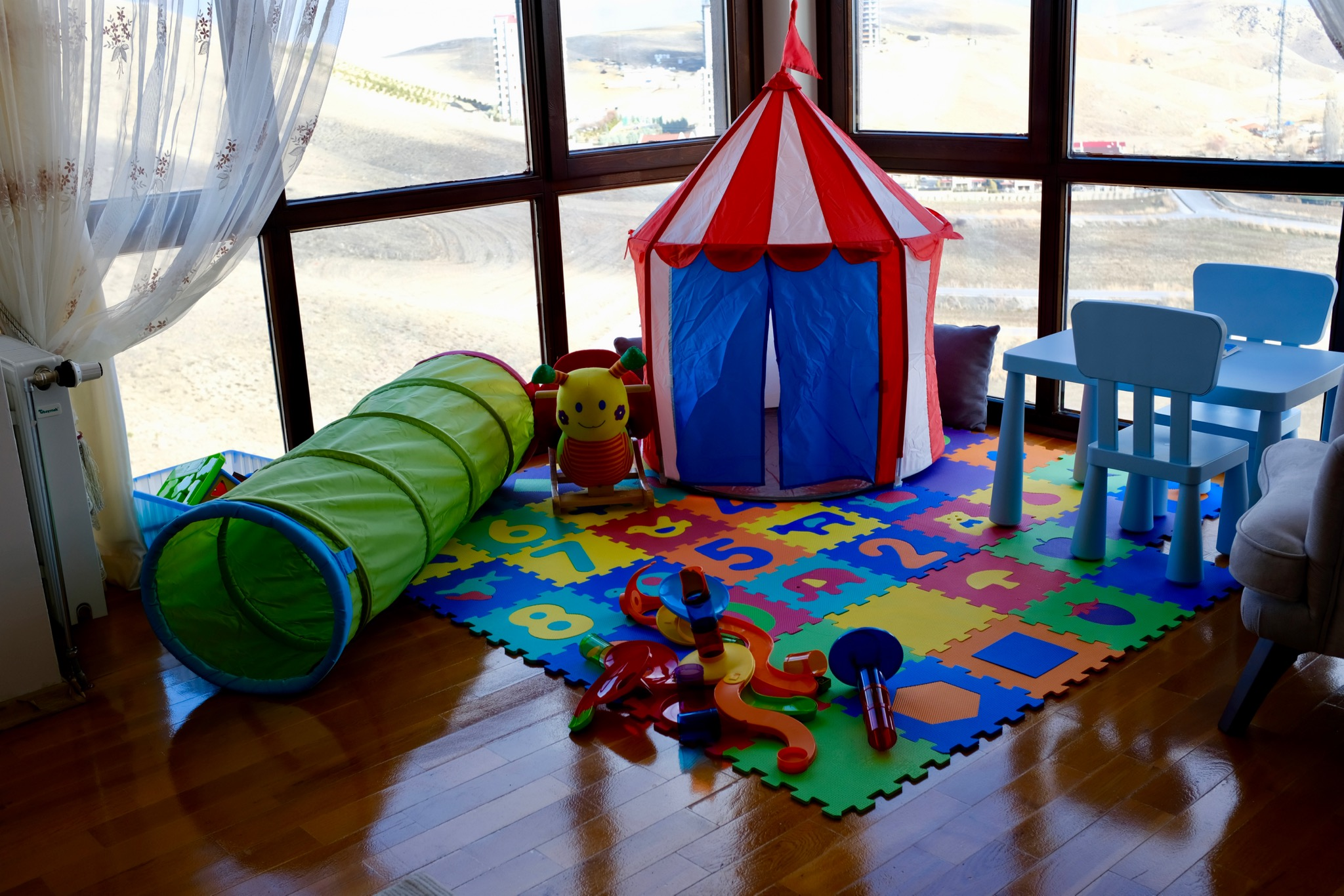Alper's playground at home