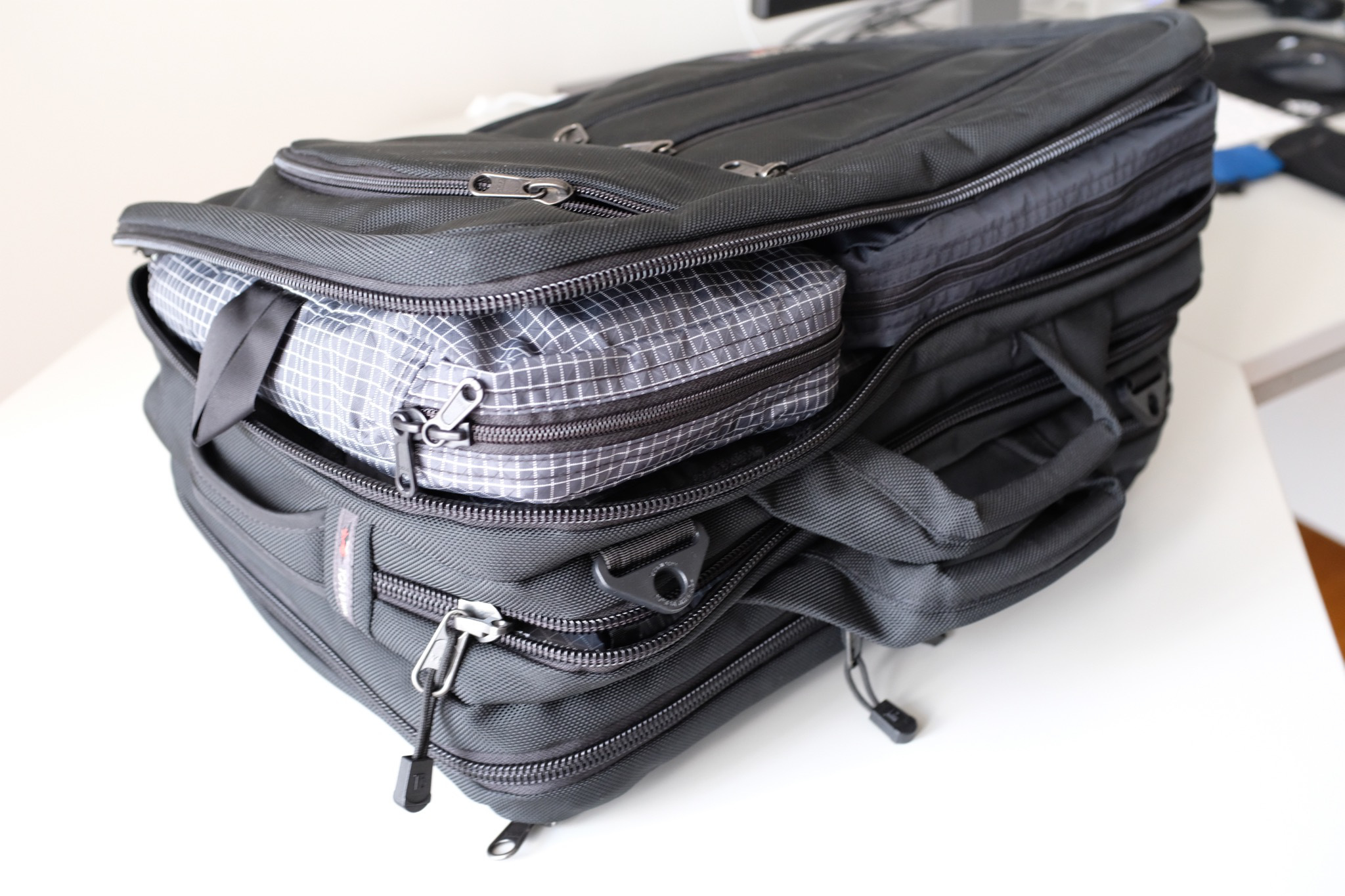 Packing cubes make it easy to pull out your items quickly